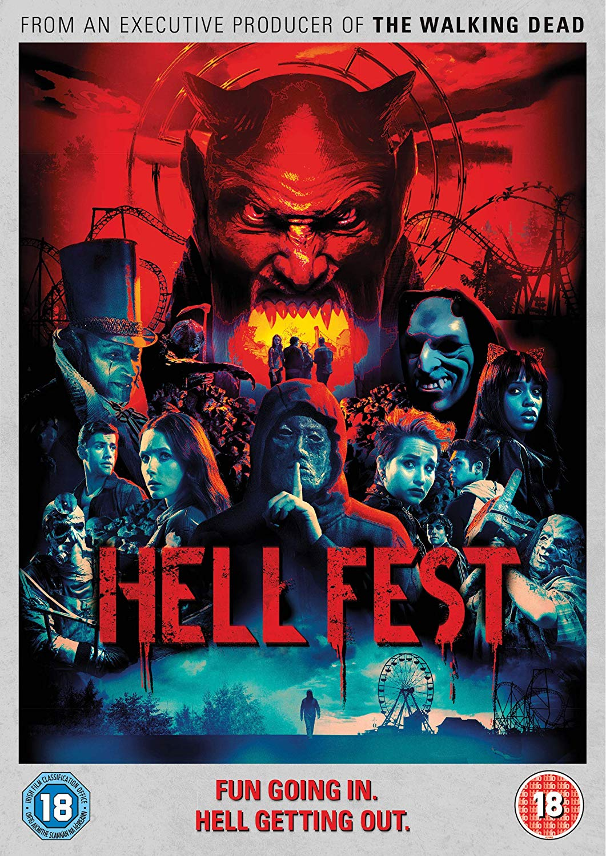 Hell Fest film review: serial killer stalks a horror theme park in throwback genre movie