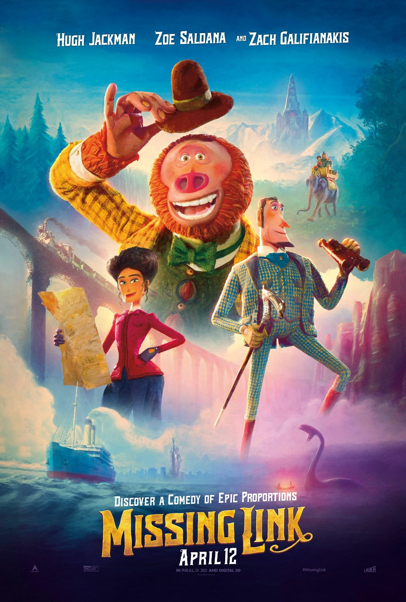 Missing Link film review: a must sasqu-watch family adventure