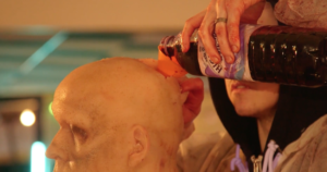 Anna And The Apocalypse behind-the-scenes video shows how to smash a zombie head