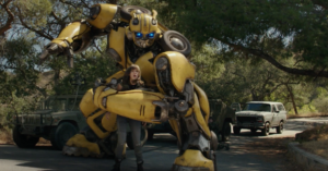 Bumblebee new clips run from the law – digital download out now, 4K Ultra HD, Blu-ray & DVD out 13 May