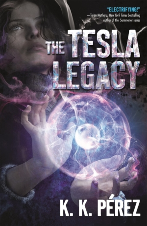 Win a copy of sci-fi novel The Tesla Legacy by K.K. Pérez with our competition!