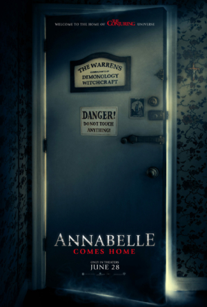 Annabelle Comes Home new poster is a cursed image