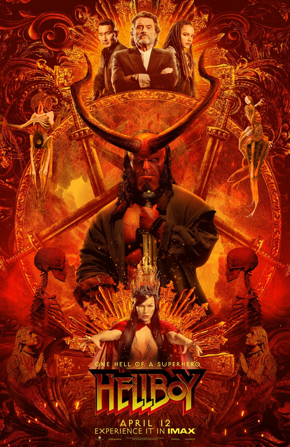 Hellboy film review: righteous reboot or unholy failure?