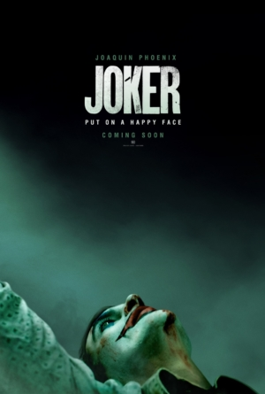 Joker first poster puts on a happy face