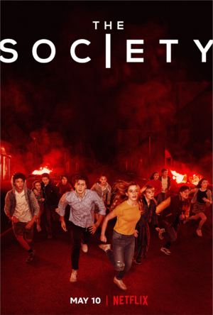 Netflix's The Society new poster runs for cover