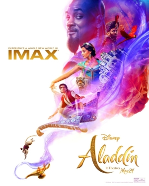 Aladdin new IMAX poster adds some magic