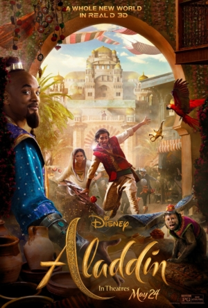 Aladdin new TV spots and poster try to get the girl