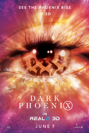 Dark Phoenix new special edition posters experience the rise