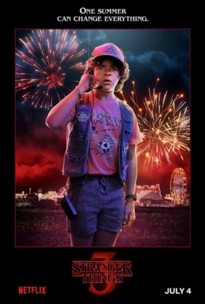 Stranger Things Season 3 character posters have a summer they'll never forget