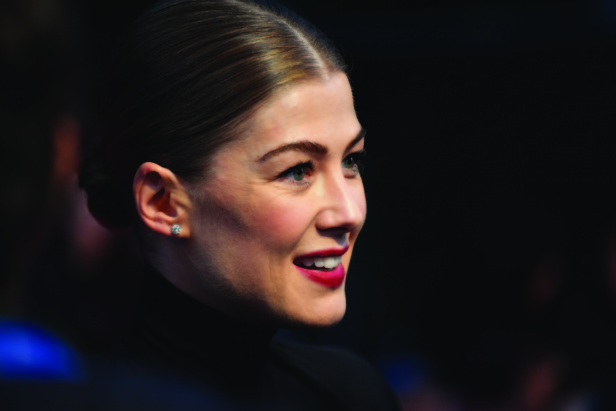 Rosamund Pike at the premiere of A Private War