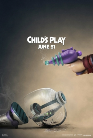 Child's Play new poster continues the Toy Story savagery