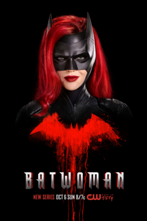 Batwoman new poster leaves its mark