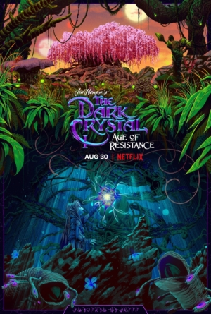 The Dark Crystal: Age Of Resistance new poster plants the Sanctuary Tree
