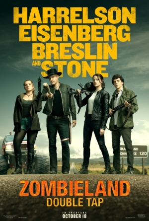 Zombieland 2: Double Tap new poster hunts its prey