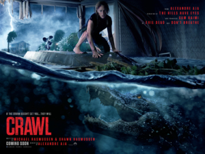 Win tickets to a special 4DX screening of Crawl and Crawl merch with our competition