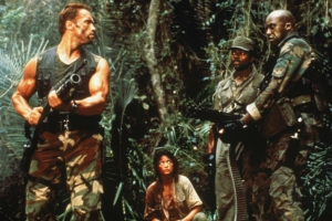 "Predator cinematographer Donald McAlpine: ""Arnie would feed me a great meal, then his side of the argument!"""