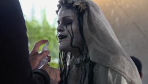 The Curse Of La Llorona behind the scenes video talks makeup