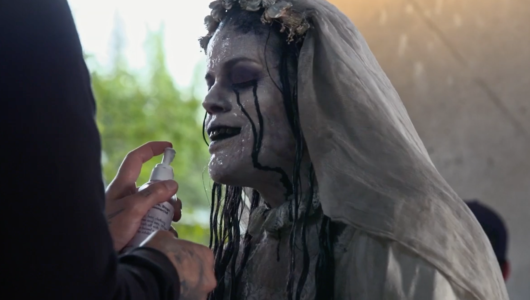 The Curse Of La Llorona behind the scenes video talks makeup - SciFiNow -  The World's Best Science Fiction, Fantasy and Horror Magazine
