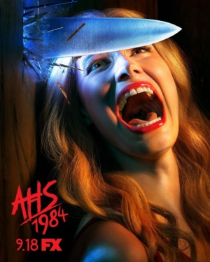 American Horror Story 1984 new poster is a scream
