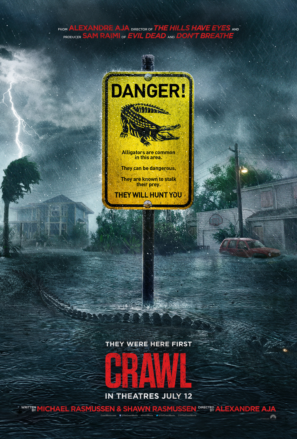 Crawl film review: a good time with gators