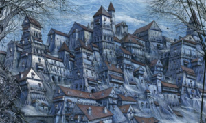 Showtime developing Gormenghast series from Neil Gaiman & Akiva Goldsman