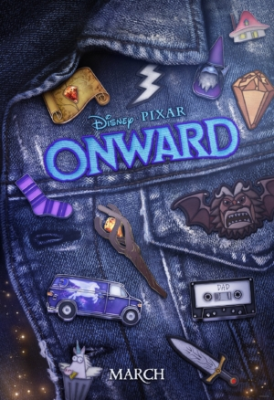 Pixar's Onward new poster teases the quest in pins and patches