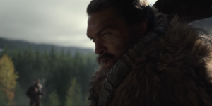 See new trailer stars Jason Momoa as a warrior leader
