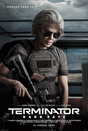 Terminator: Dark Fate new character posters assemble