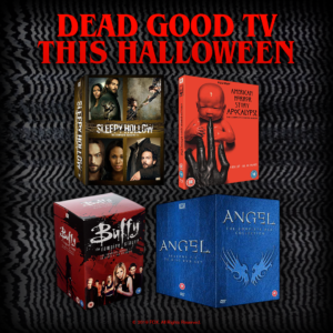 Win a spooky Halloween TV boxset with our competition!