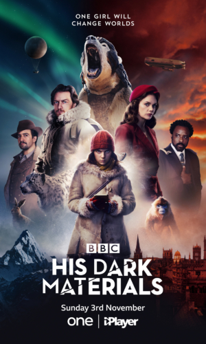 His Dark Materials new poster goes for a superhero montage look