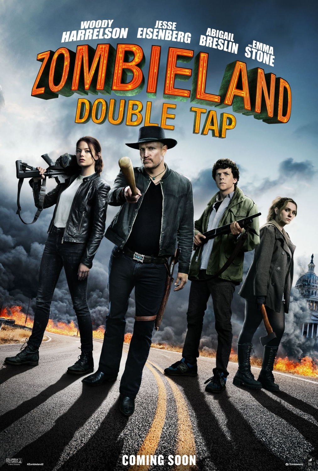 Zombieland: Double Tap film review: back for gore ten years later
