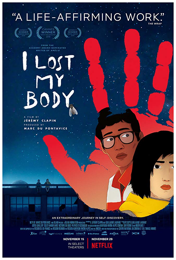 I Lost My Body film review: put your hands together