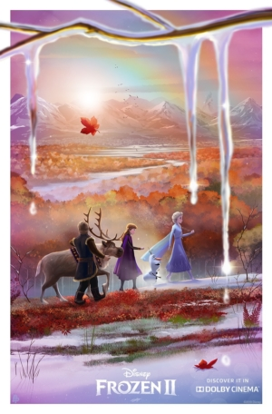 Frozen 2 new special edition posters enter a winter wonderland