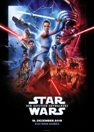 Star Wars: The Rise Of Skywalker international poster is epic