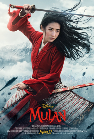 Mulan new poster brings honour to us all