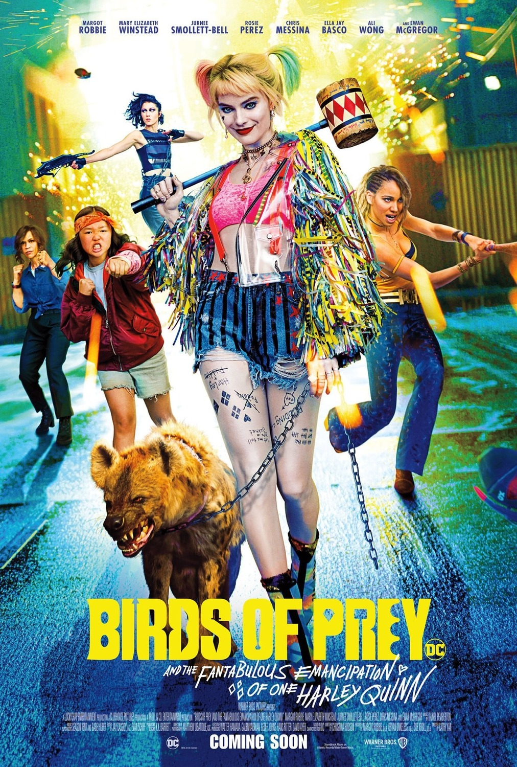 Birds Of Prey New Posters Take A Hyena Out For A Walk Scifinow The World S Best Science Fiction Fantasy And Horror Magazine