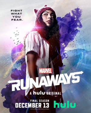 Marvel's Runaways Season 3 new character posters fight their fears