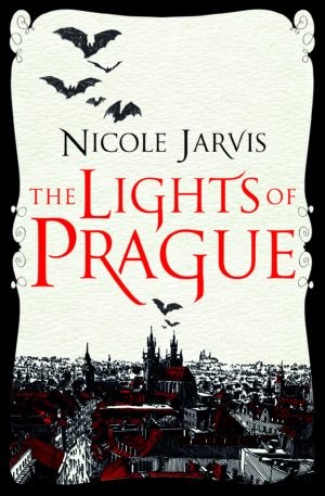 The Lights Of Prague by Nicole Jarvis book cover reveal & exclusive excerpt