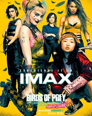 Birds Of Prey new IMAX poster has a lot going on