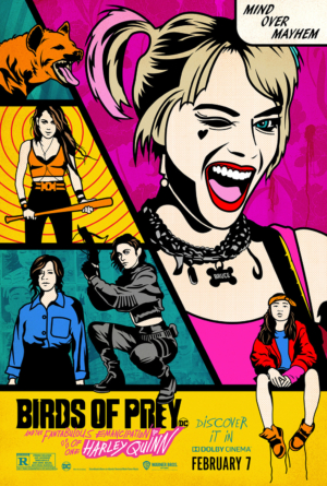 Birds Of Prey new poster is a matter of mind over mayhem