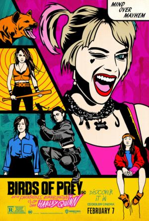 Birds Of Prey new poster is a matter of mind over mayhem