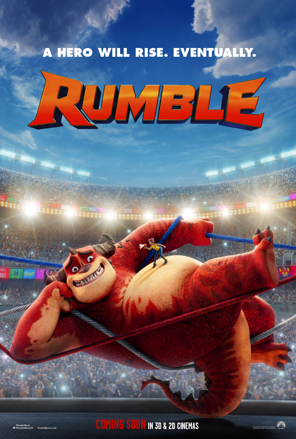 Rumble: Monster poster...