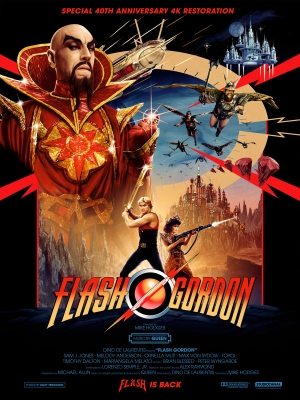 Flash Gordon: Special 40th anniversary 4k restoration coming soon