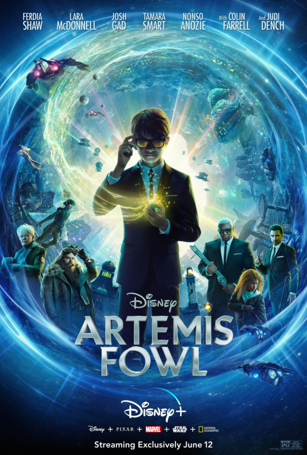 An interview with Artemis Fowl's Tamara Smart
