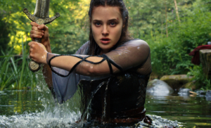 Cursed: Exclusive behind-the-scenes look with Katherine Langford