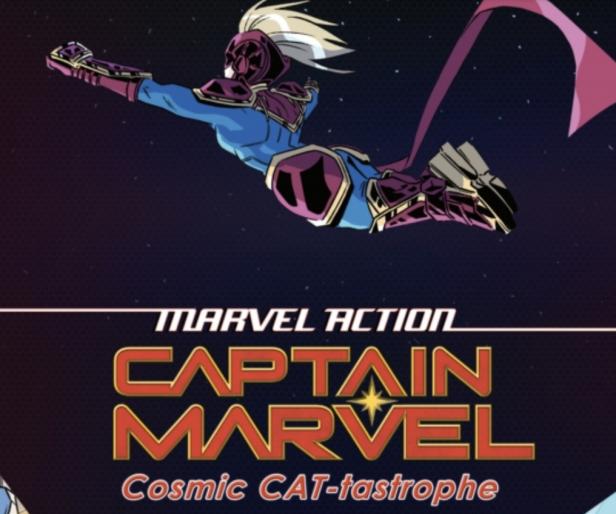 Captain Marvel: Cosmic CAT-tastrophe review: Carol's here and she's not kitten around