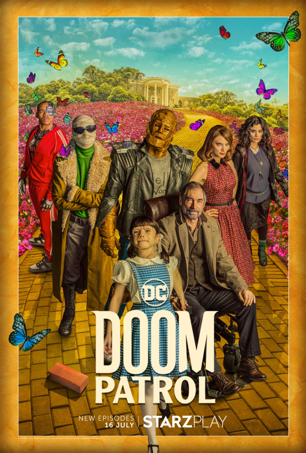 Doom Patrol: Exclusive UK premier date announced for Season Two