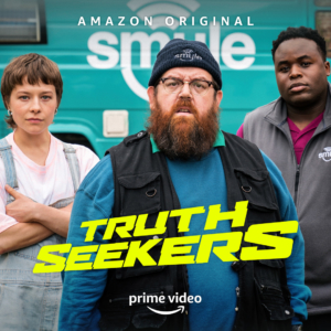 SDCC 2020: First look at Simon Pegg and Nick Frost's Truth Seekers