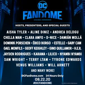 DC FanDome: Immense line-up announced