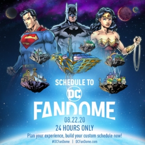 DC FanDome: Virtual event to be split for on-demand viewing